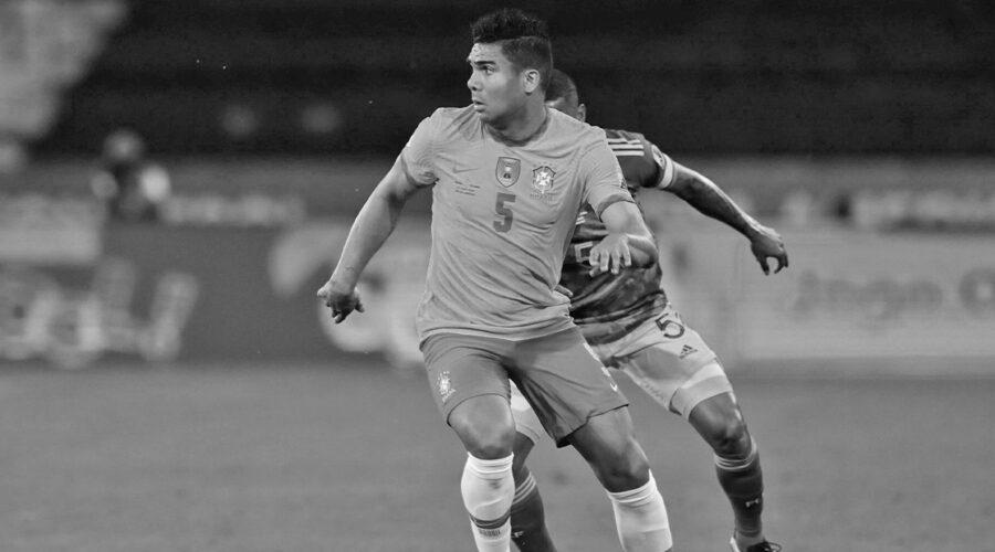 Casemiro in Copa America 2021